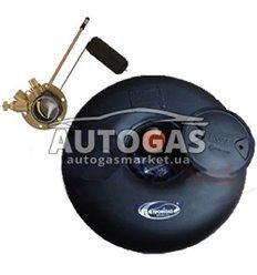 Комплект Баллон тороидальный пропан-бутан H200 mm, D600 mm, 45 л, Украина, мульт