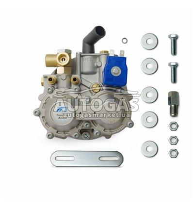 Редуктор Tomasetto АТ04 (метан) 2-3-е пок., эл., до 140 л.с. (до 100 кВт), вход D6 (M12x1), выход D19