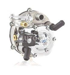 Редуктор Tomasetto AT07 MOD (пропан-бутан) 2-3-е пок., до 140 л.с. (до 100 кВт), вход D6 (M10x1), выход D20, с фильтром