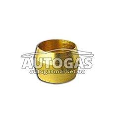 Ниппель D 8 (латунь) для медной трубки, Tomasetto