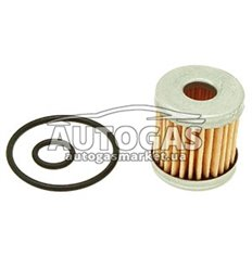 Фильтроэлемент бумажный для ЭМК газа OMB, с уплот. кольцами, Certools