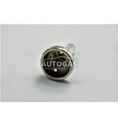 Адаптер к ВЗУ (пропан-бутан) для установки в бензо-заправочный люк удлиненный, (75 мм, нержавейка), NLP
