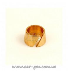 Нипель розрізний стопорний для термопластиковой трубки, D6