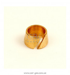 Нипель разрезной стопорный для термопластиковой трубки, D8