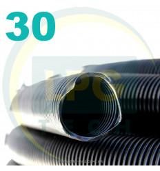 Рукав вентиляционный (гофра) D30