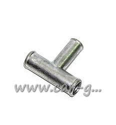 Тройник тосольный 19х16х19 метал. Укр