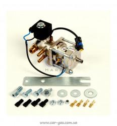 Редуктор Bigas (метан) RI.27-J, з фільтр. і клапан. до 300 kW, 2 BAR