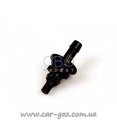 Штуцер калибровочный к форсункам AEB Plastic D2,2 мм, BLACK для рукава д.6 (50 шт. в упаковке)
