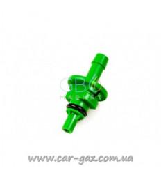 Штуцер калібрувальний до форсунок AEB Plastic D2,0 мм, GREEN для рукава буд.6 (50 шт. В упаковці)