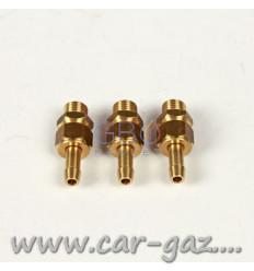 Монтажный набор к форсункам AEB (метал), на 3 цил. (датч. темп. газа, штуцера в колле, штуцер д.12)
