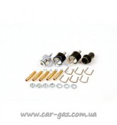 Монтажный набор к форс. AEB 4ц. (polimer), на MP32 (штуц.д.12, загл, скобы, штуц. в колл, амортиз)