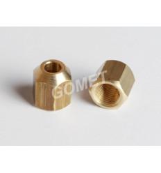 Гайка d-6mm накидная (NA-0001) (GZ-232A)