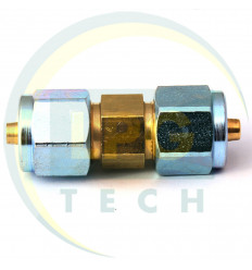 Переходник соединитель тр-ки PCV 6/6 (ZL-0043) (GZ-2312)