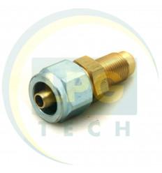 Переходник с тр-ки PCV d8/М12х1 (ZL-0047) (GZ-2383)