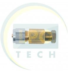 Переходник соединитель тр-ки PCV/медь 8/8 (GZ-2395 A)