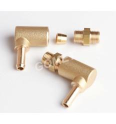 Вкрутка удлинитель d-6 PVC 90* (нов. тип) (GZ-2306)