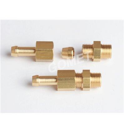 Вкрутка удлинитель d-6 PVC (нов. тип) (GZ-2301)