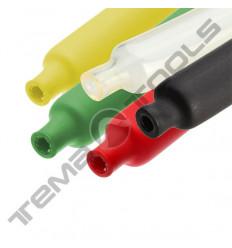 Трубка термоусадочная клеевая (d6,4-2,2мм)1м