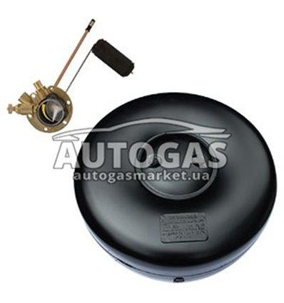Комплект Баллон тороидальный пропан-бутан H270 mm, D720 mm, 89 л, GREENGAS+мульт