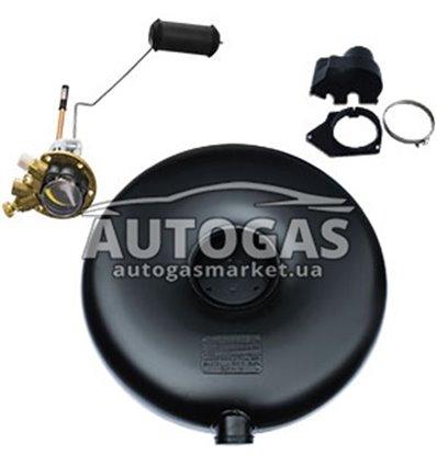 Комплект Баллон тороидальный пропан-бутан наружный H220 mm, D630 mm, 54 л, GREENGAS+мульт+протектор