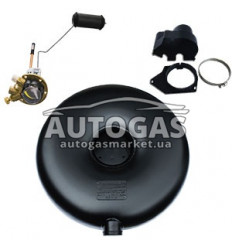 Комплект Баллон тороидальный пропан-бутан наружный H200 mm, D630 mm, 48 л, GREENGAS+мульт+протектор