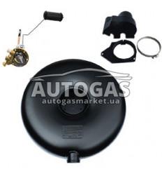 Комплект Баллон тороидальный пропан-бутан наружный H200 mm, D580 mm, 40 л, GREENGAS+мульт+протектор