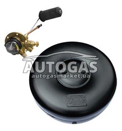 Комплект Баллон тороидальный пропан-бутан H180 mm, D720 mm, 54 л, GREENGAS+мульт