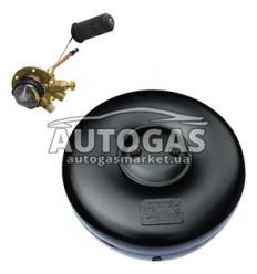 Комплект Баллон тороидальный пропан-бутан H180 mm, D570 mm, 34 л, GREENGAS+мульт