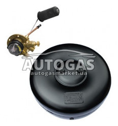 Комплект Баллон тороидальный пропан-бутан H220 mm, D600 mm, 48 л, GREENGAS+мульт