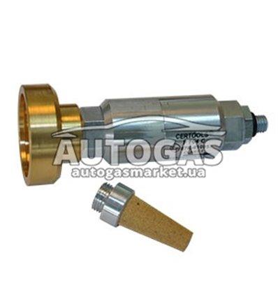Фильтр жидкой фазы газа (пропан-бутан) - Адаптер к ВЗУ с керамическим фильтроэлементом, F704, Certools