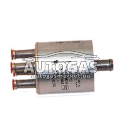 Фильтр паровой фазы газа 11/4х8 со сменным бумажным фильтроэлементом F779-В, Certools