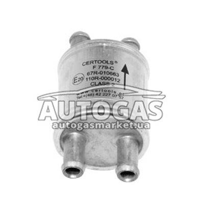 Фильтр паровой фазы газа 2х11/2х11 с бумажным фильтроэлементом F779-С, Certools