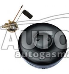 Трубка D 6 x 3,6 (термопластик), бухта 6,25 м в комплекте с переходниками (прямой+угловой), GreenGas