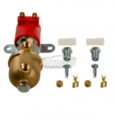Электромагнитный клапан газа ROYALGAS (пропан-бутан) с бумажным фильтроэлементом, вход D6 (M10x1), выход D6 (M10x1)