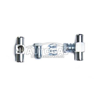 Дозатор газа 17х17, алюминий, OML