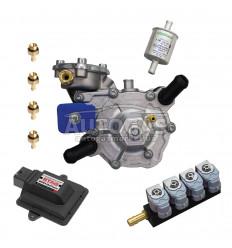 Комплект 4ц. STAG- 4 GoFast , редуктор NLP до 150 л.с.(до 110 кВт), форс. GreenGas IT01, фильтр 12/12